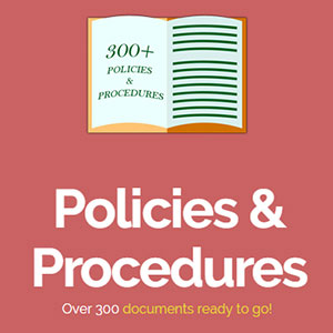 Policies and Procedures Over 300 Documents